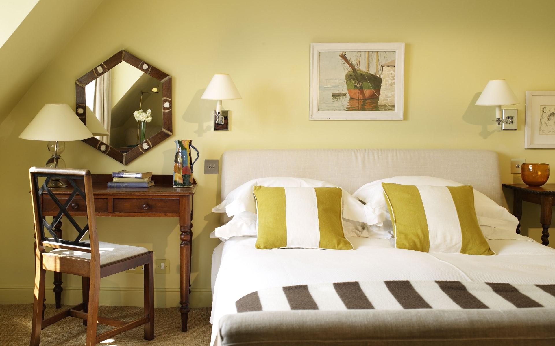 постель в гостинице