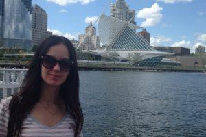 Евгения, уехала в США