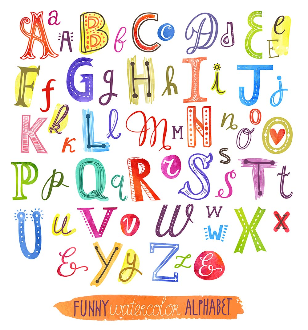 английский алфавит для дтей