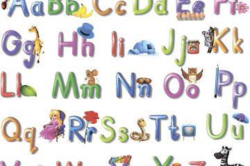распечатать английский алфавит для детей