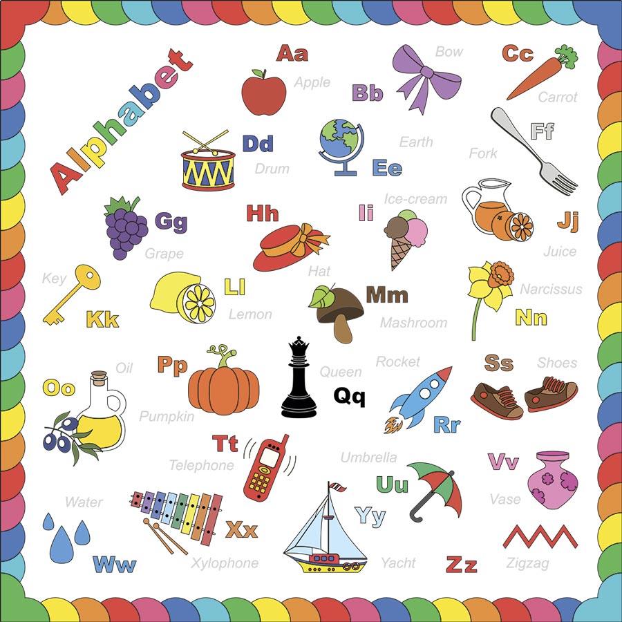 английский алфавит для детйе